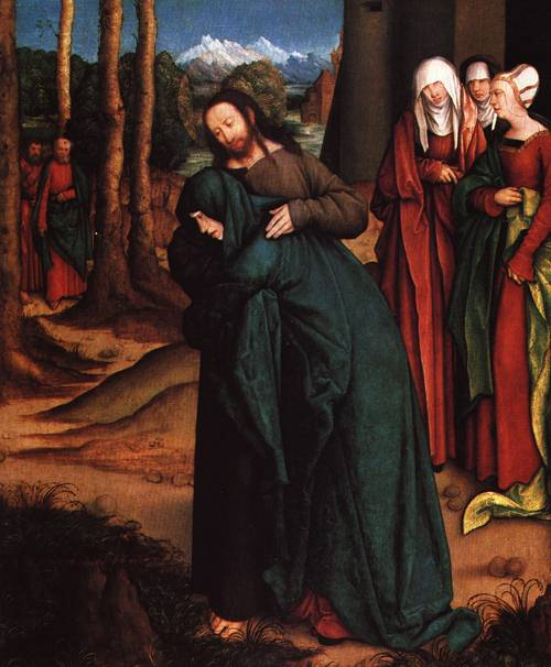 Christ Taking Leave of his Mother | Bernhard Strigel | Oil Painting