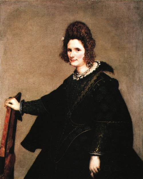 Portrait of a Lady 1630 3 | Diego Velazquez | Oil Painting