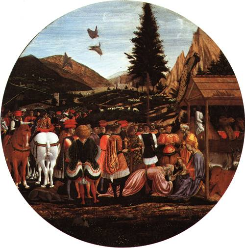 The Adoration of the Magi 1440 | Domenico di Bartolo da Venezia called Domenico Veneziano | Oil Painting