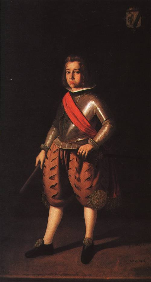 Don Alonso Verdugo de Albornoz 1635 | Francisco de Zurbaran | Oil Painting
