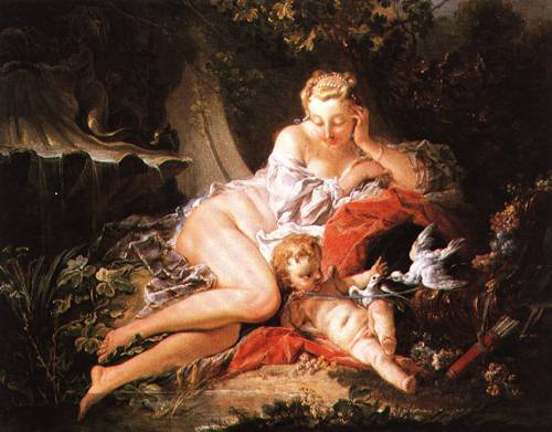 Venus and Cupid 1742 | Francois Boucher | Oil Painting