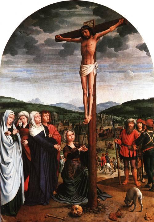 Christ on the Cross 1515 | Gerard David | Oil Painting
