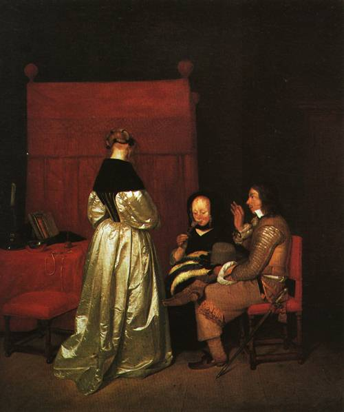 The Parental Admonition 1654 5 | Gerard ter Borch | Oil Painting