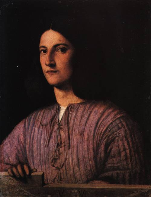 Portrait of a Young Man | Giorgio da Castelfranco called Giorgione | Oil Painting