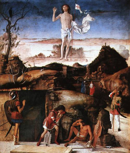 The Resurrection 1479 | Giovanni Bellini | Oil Painting