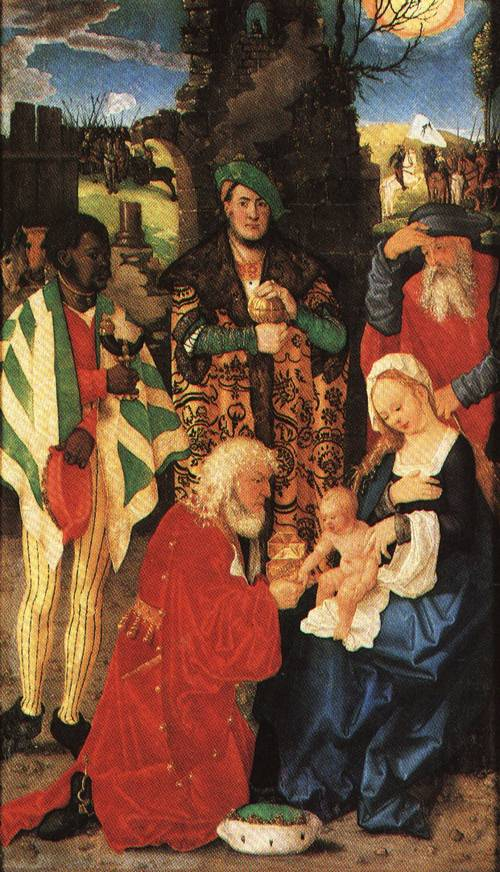 Three Magi Altarpiece I507 | Hans Baldung called Grien | Oil Painting
