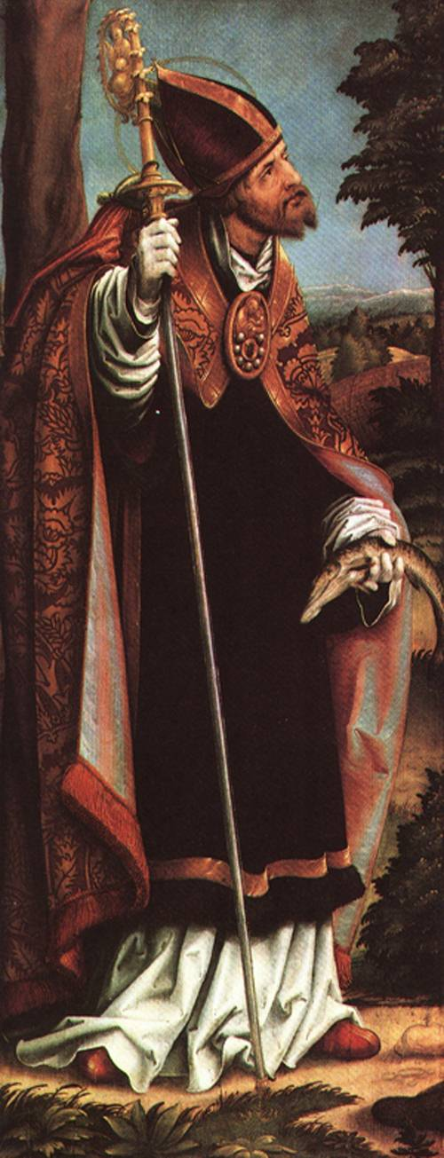 Wings of an Altarpiece St Barbara 1518 | Hans Burgkmair | Oil Painting