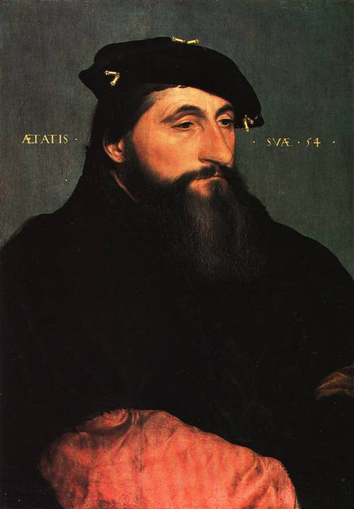 Portrait of Duke Anton the Good of Lorraine 1543 | Hans Holbein the Younger | Oil Painting