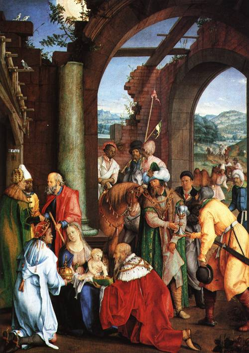 Adoration of the Magi 1511 | Hans Suess von Kulmbach | Oil Painting