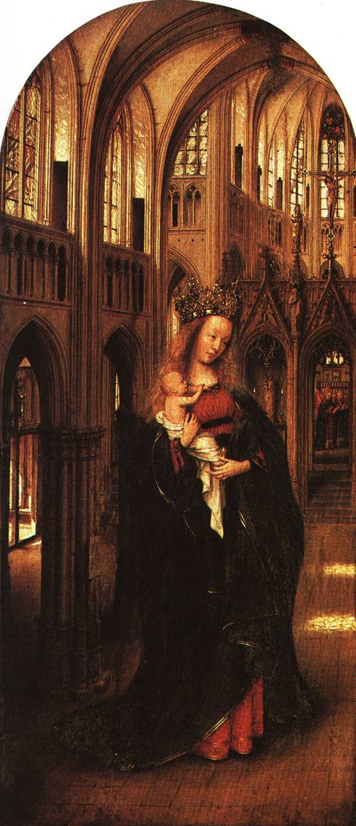 The Madonna in the Church | Jan van Eyck | Oil Painting