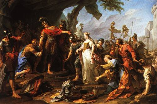 The Magnanimity of Scipio 1728 | Jean Reatout | Oil Painting