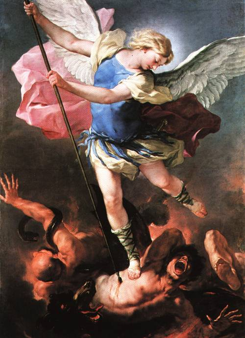 St Michael 1663 | Luca Giordano | Oil Painting