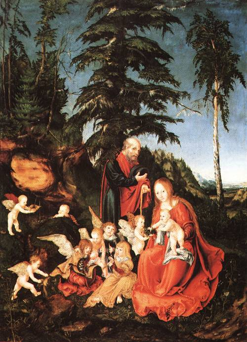Rest on the Flight into Egypt 1504 | Lucas Cranach the Elder | Oil Painting