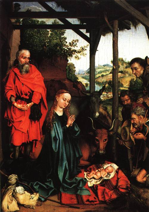 The Nativity 1480 | Martin Schongauer | Oil Painting