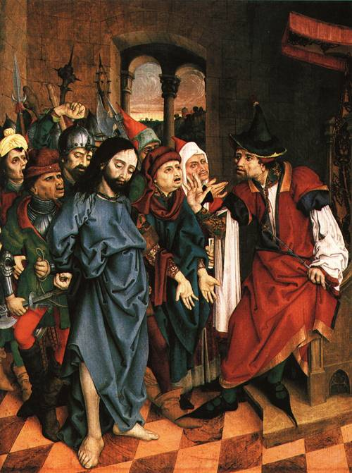 Christ before Pilate 1500 | Master Lcz | Oil Painting