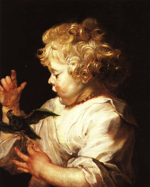 Child  with a Bird 1624 5 | Peter Paul Rubens | Oil Painting