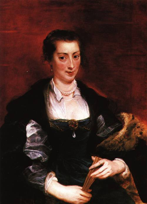 Portrait of Isabella Brant 1626 | Peter Paul Rubens | Oil Painting