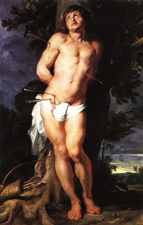 St Sebastian 1618 | Peter Paul Rubens | Oil Painting
