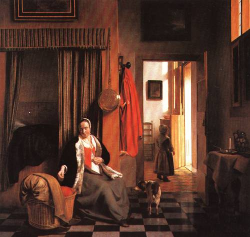 The Mother 1661 3 | Pieter de Hooch | Oil Painting