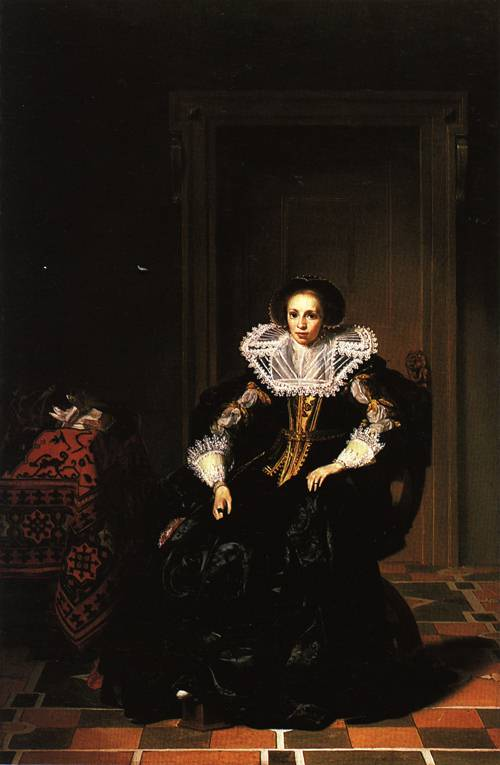 Portrait of a Lady 1632 | Thomas de Keyser | Oil Painting