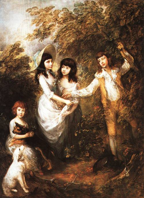 The Marsham Children 1787 | Thomas Gainborough | Oil Painting