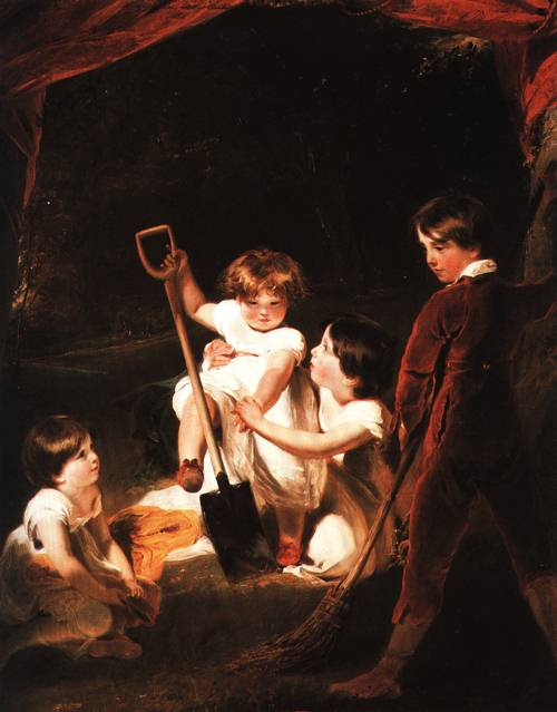 The Angerstein Children 1807 | Thomas Lawrence | Oil Painting