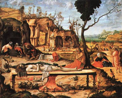 The Preparation of Christs Tomb 1505 | Vittore Carpaccio | Oil Painting