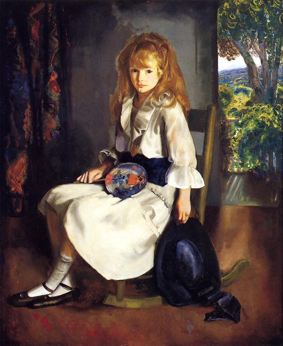 Anne in White 1920 | George Bellows | Oil Painting