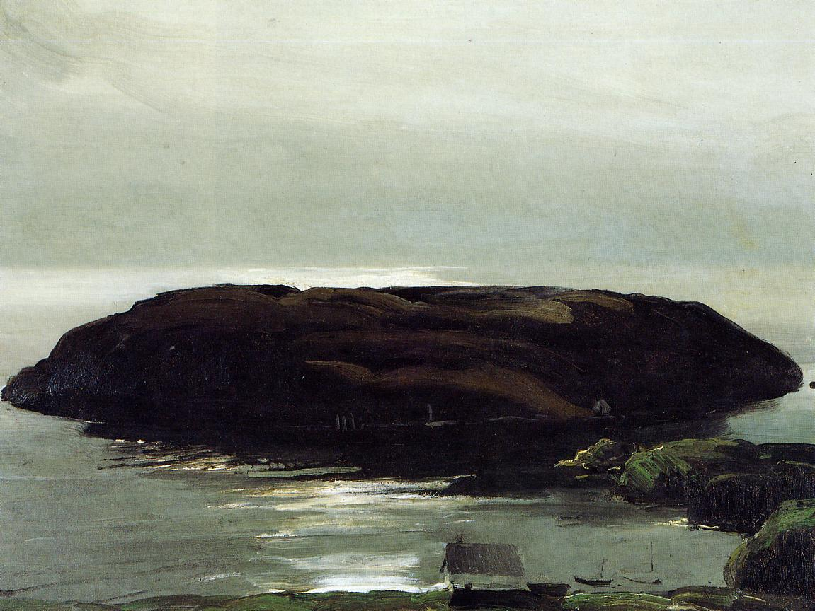 An Island in the Sea 1911 | George Bellows | Oil Painting