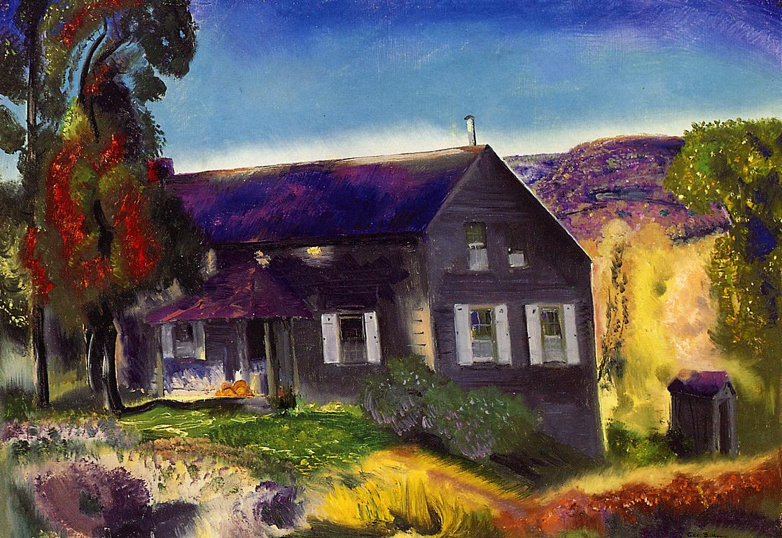 Black House 1924 | George Bellows | Oil Painting