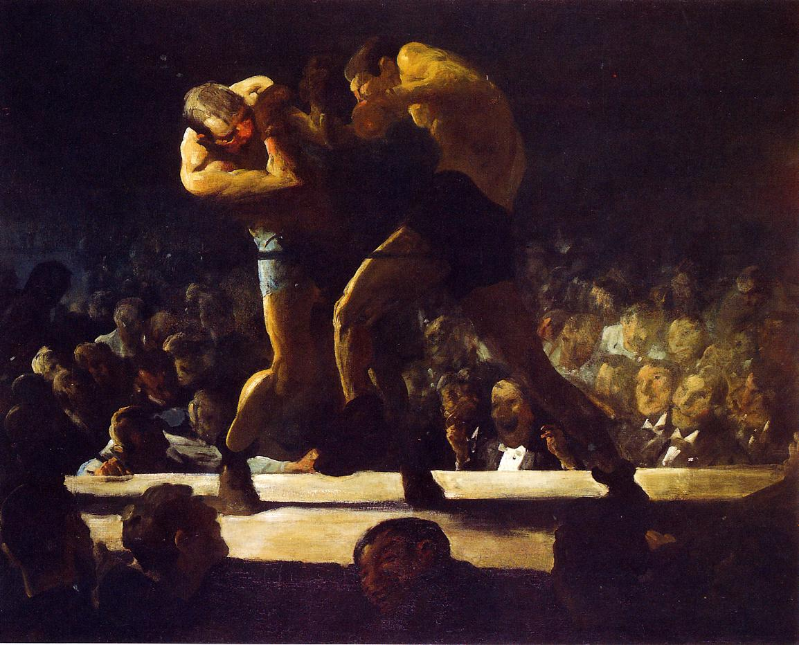 Club Night 1907 | George Bellows | Oil Painting