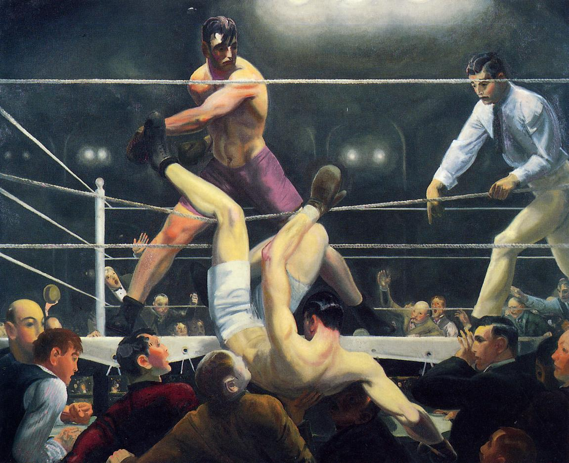 Dempsey and Firpo 1924 | George Bellows | Oil Painting