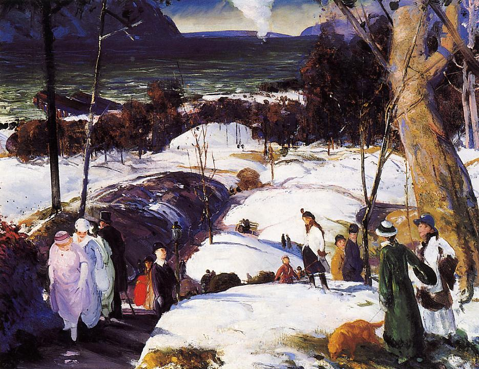 Easter Snow 1915 | George Bellows | Oil Painting