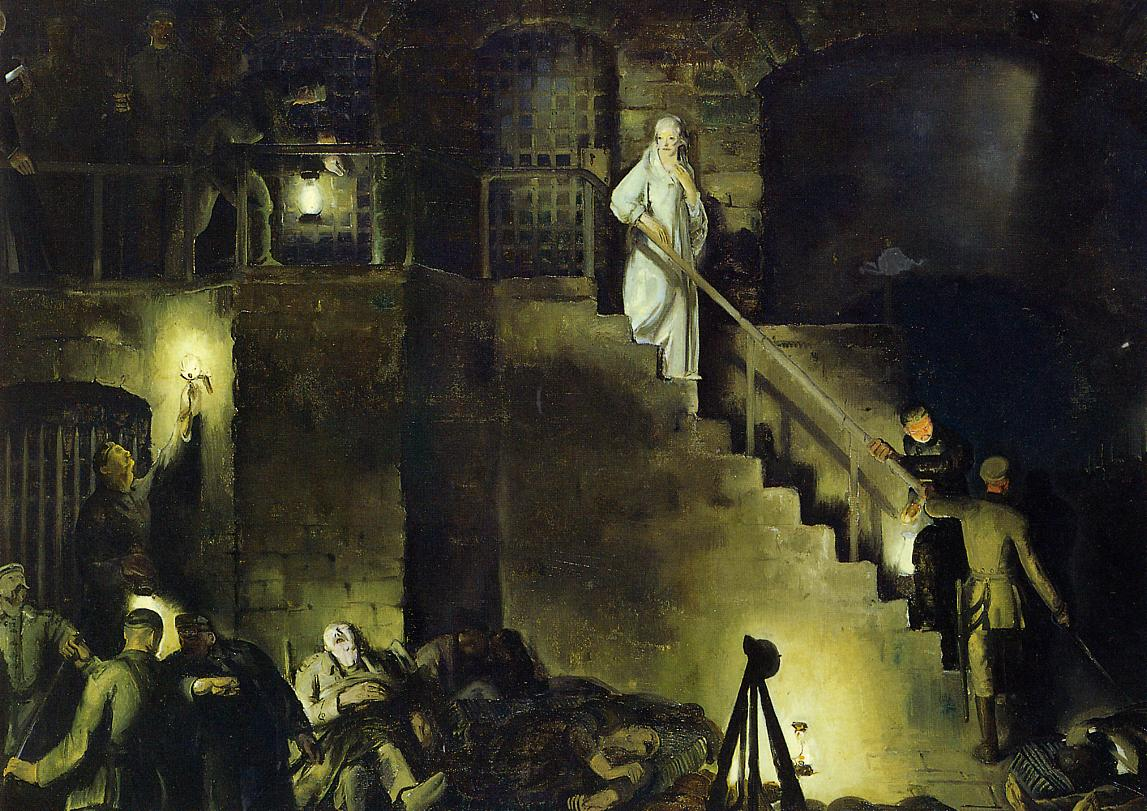 Edith Cavell 1918 | George Bellows | Oil Painting