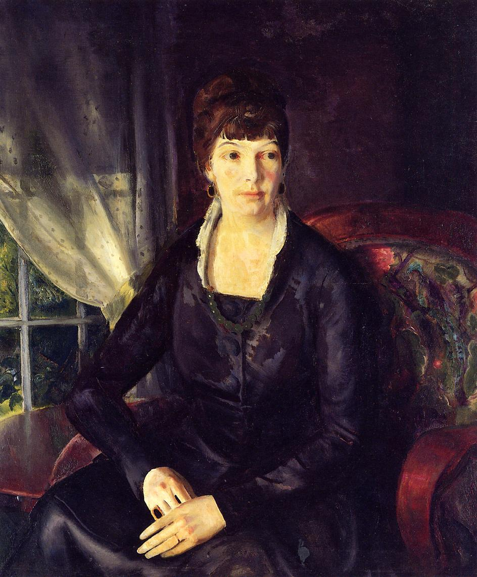 Emma at the Window 1920 | George Bellows | Oil Painting