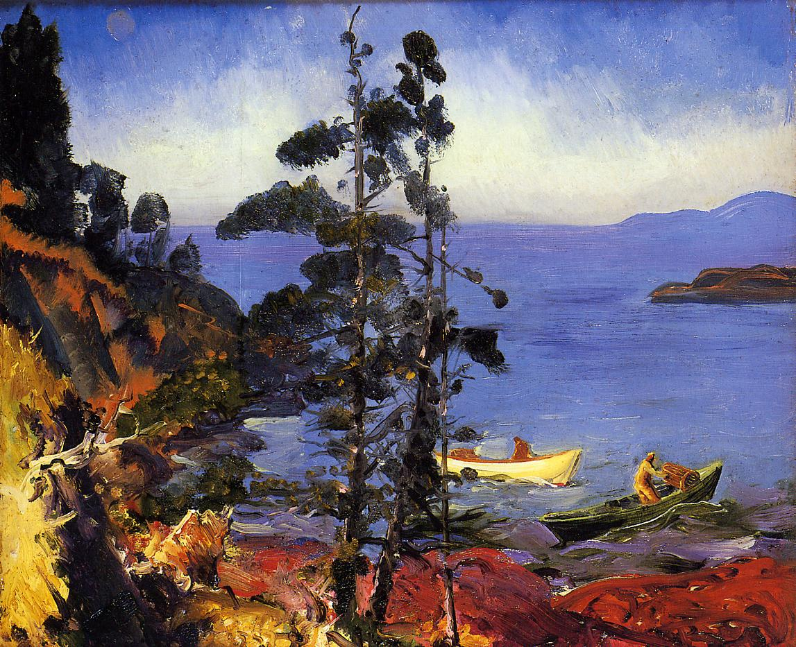 Evening Blue 1913 | George Bellows | Oil Painting