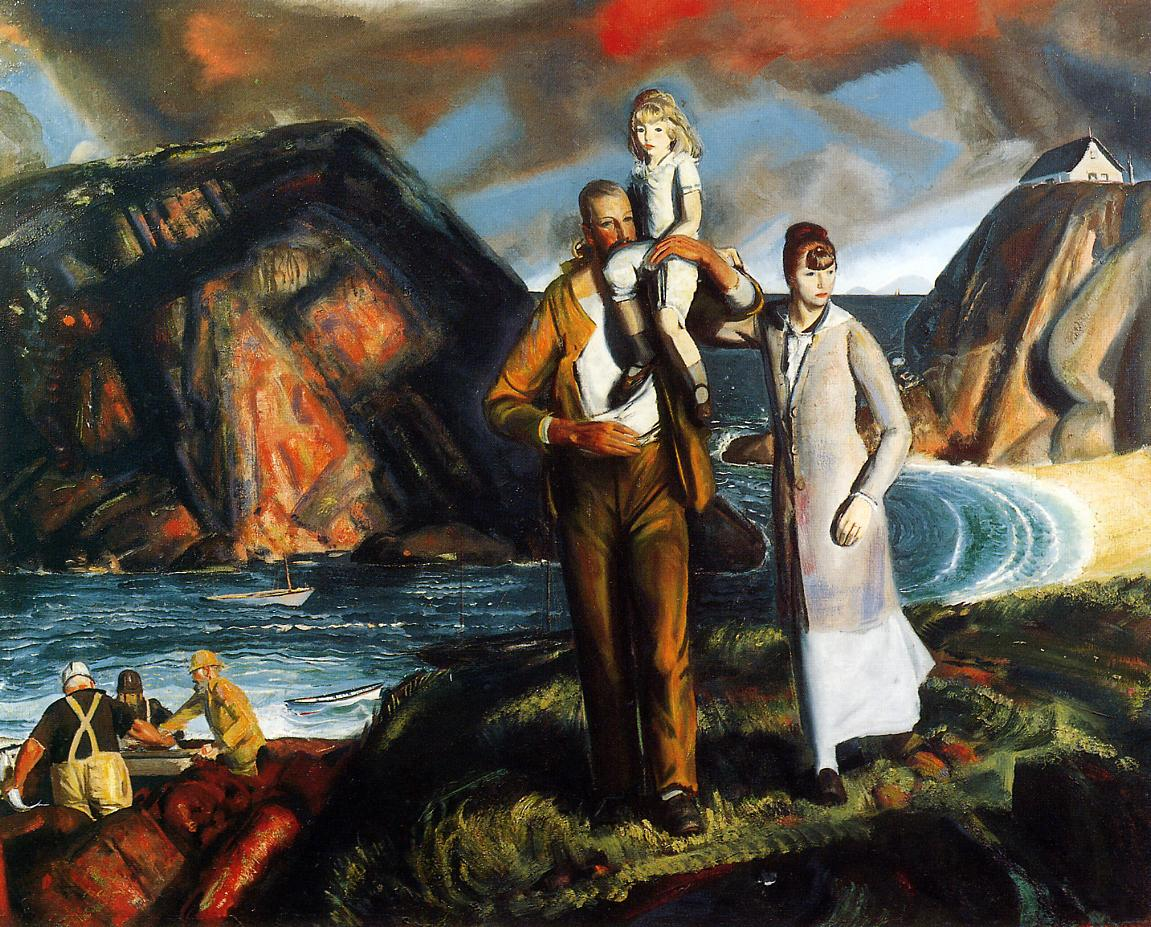 Fisherman's Family 1923 | George Bellows | Oil Painting