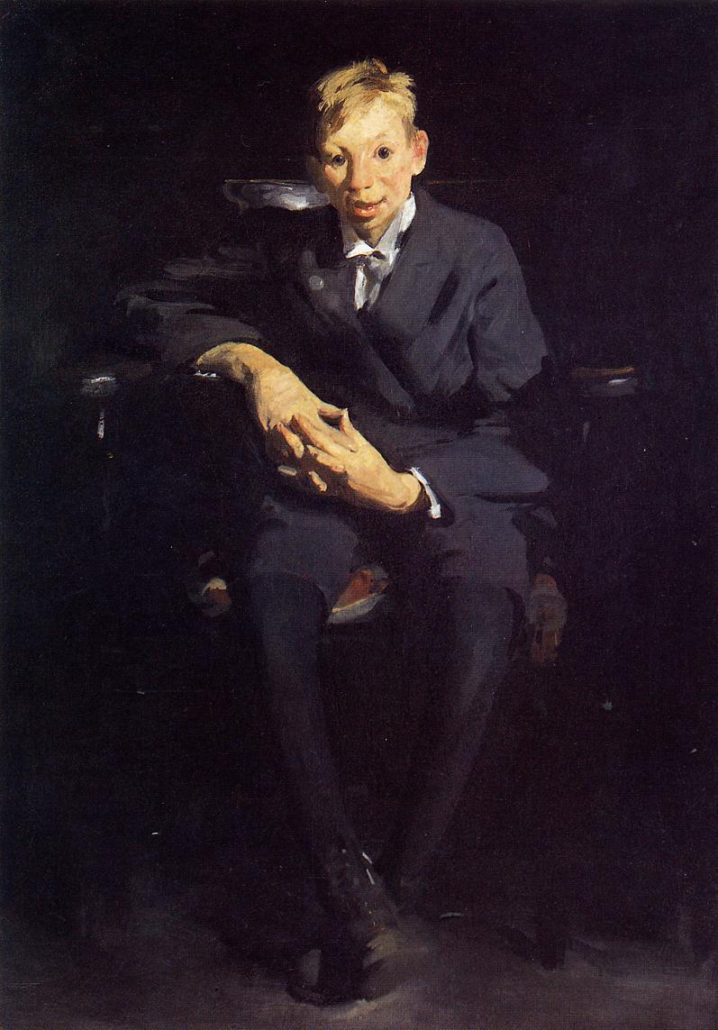 Frankie the Organ Boy 1907 | George Bellows | Oil Painting
