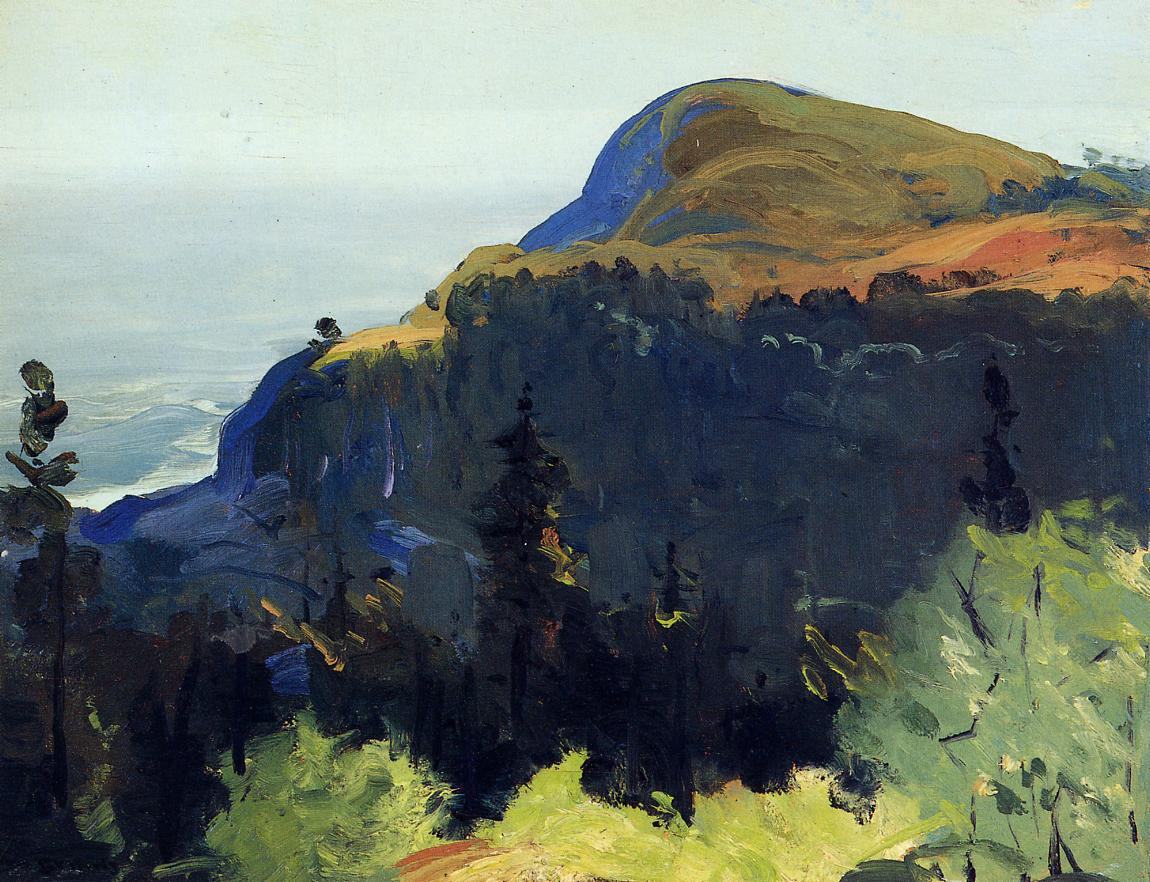 Hill and Valley 1913 | George Bellows | Oil Painting