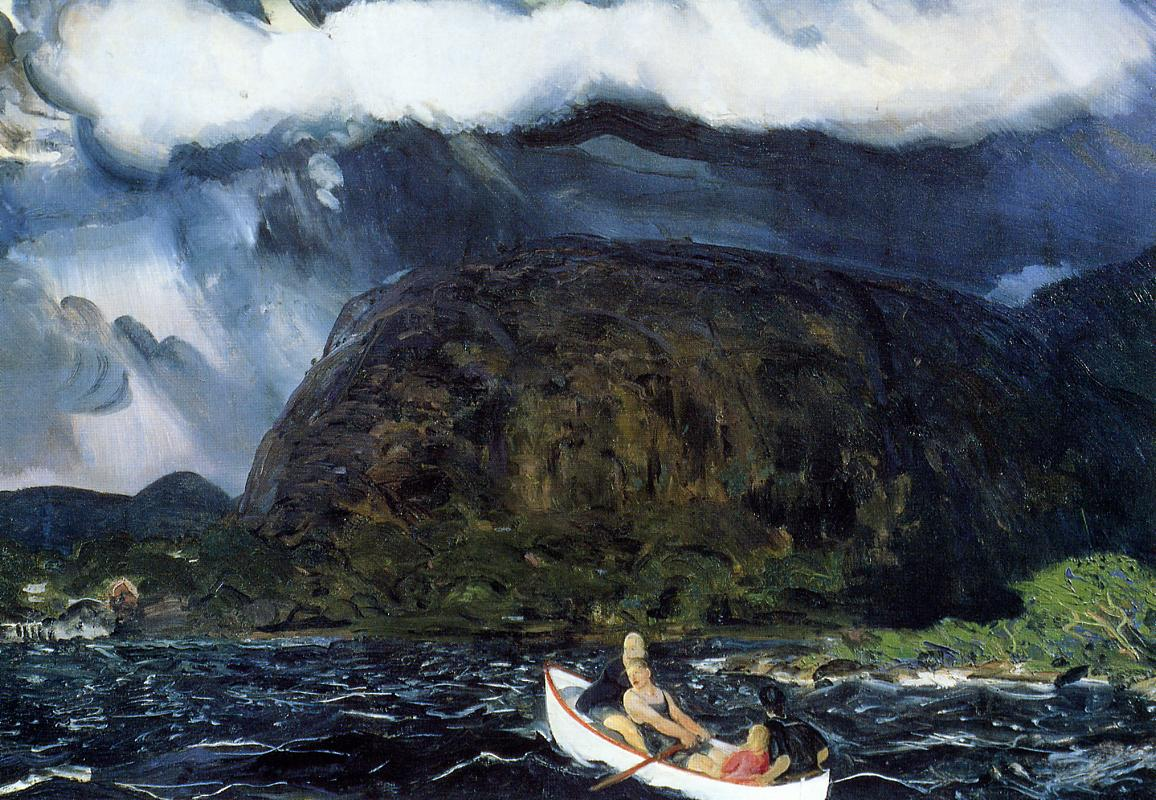 In a Rowboat 1916 | George Bellows | Oil Painting