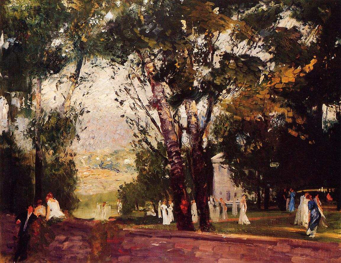 In Virginia 1908   George Bellows   Oil Painting