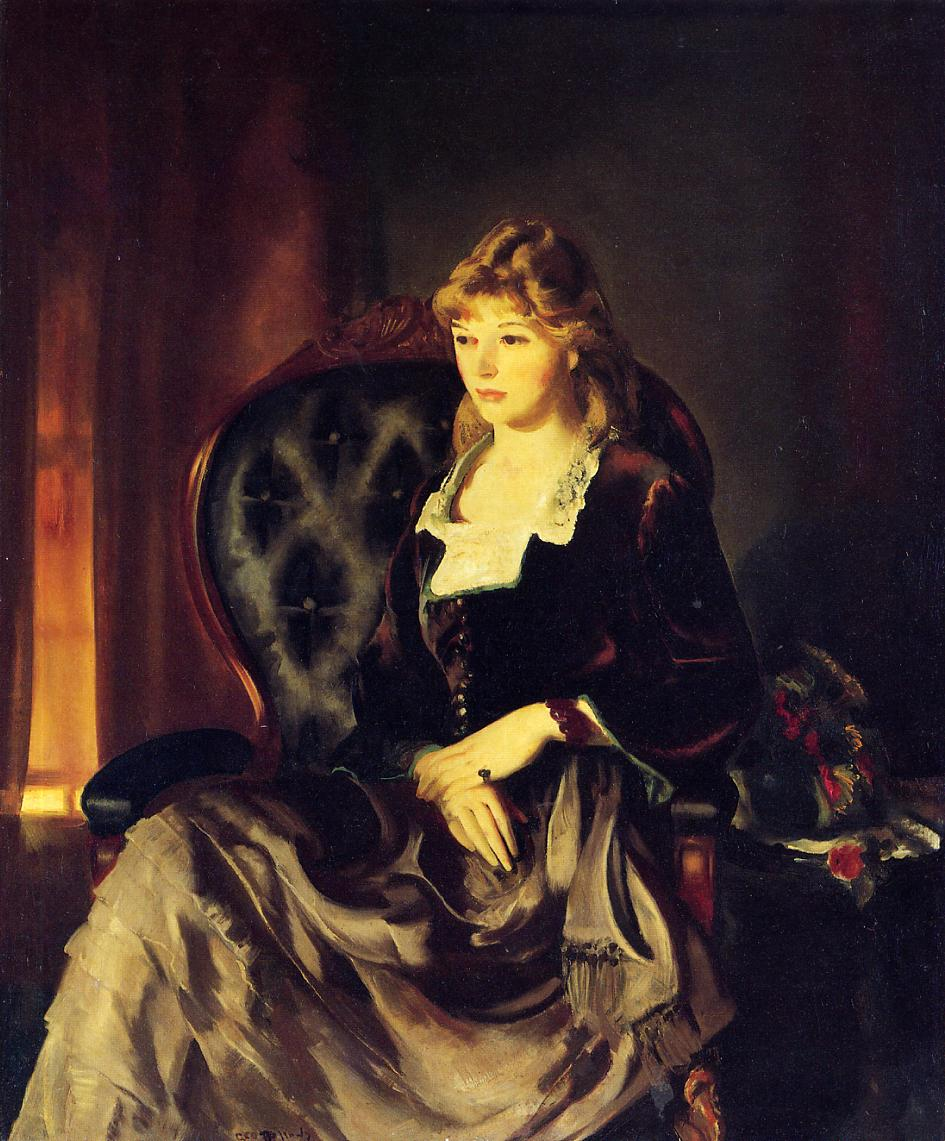 Katherine Rosen 1921   George Bellows   Oil Painting
