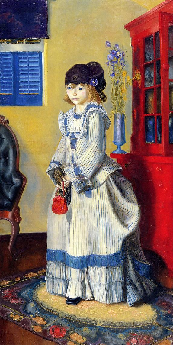 Lady Jean 1924   George Bellows   Oil Painting