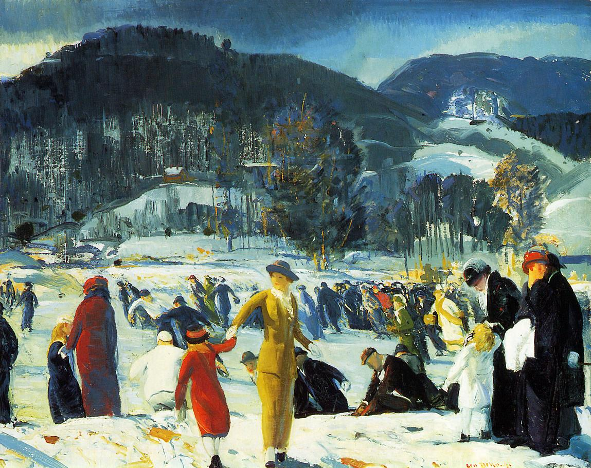 Love of Winter 1914 | George Bellows | Oil Painting