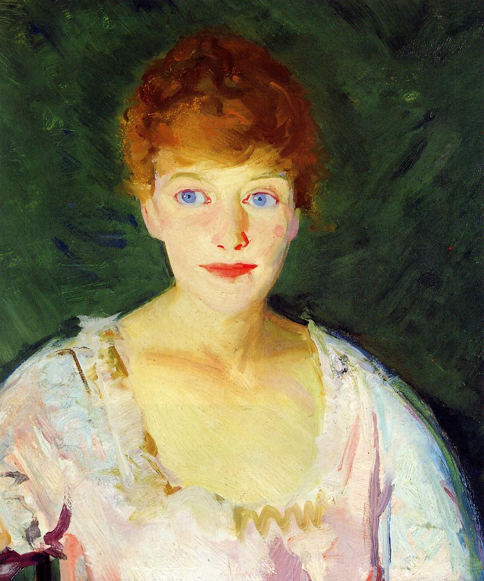 Lucie 1915   George Bellows   Oil Painting
