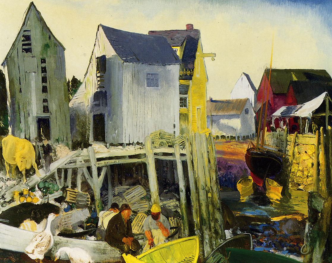 Matinicus 1916 | George Bellows | Oil Painting
