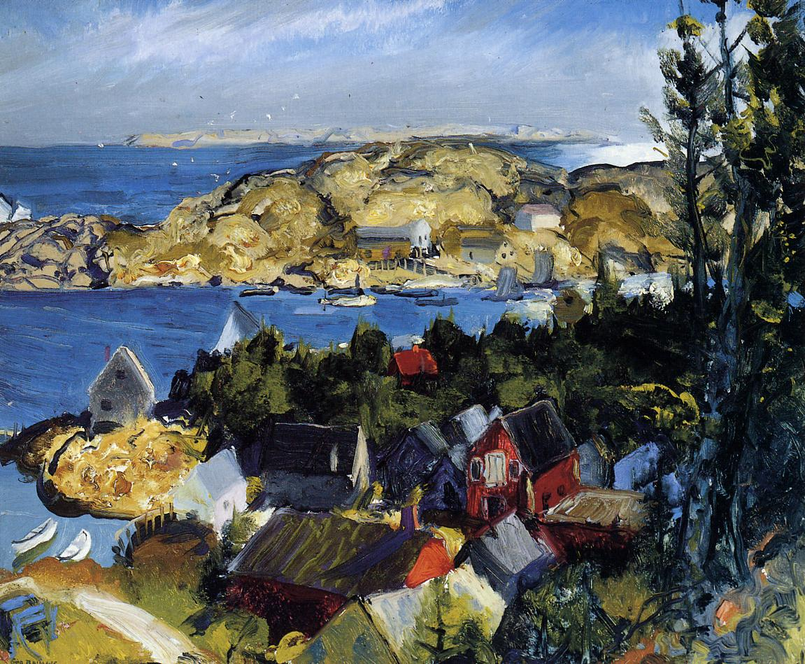 Matinicus fom Mr. Ararat 1916 | George Bellows | Oil Painting