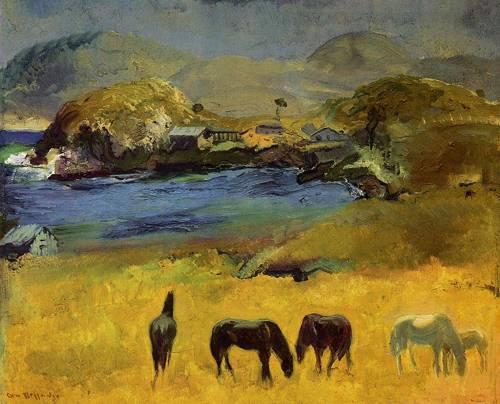 Horses Carmel 1917