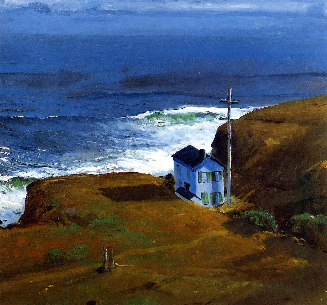 Shore House 1911 | George Bellows | Oil Painting