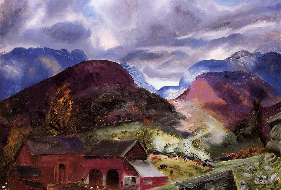 Snow Capped Mountains 1920 | George Bellows | Oil Painting